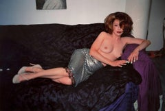 """Nan Goldin """"Kathleen White Modeling Helmut Lang"""" Photograph, 1996"""