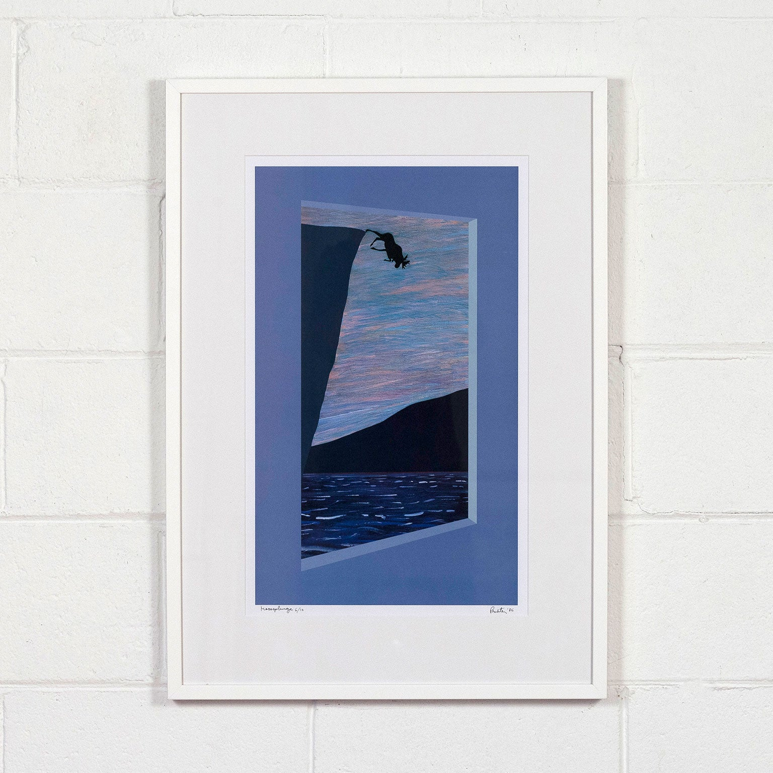 """Charles Pachter """"Moose Plunge"""""""