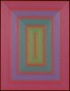 """Richard Anuszkiewicz """"Inner Space"""""""