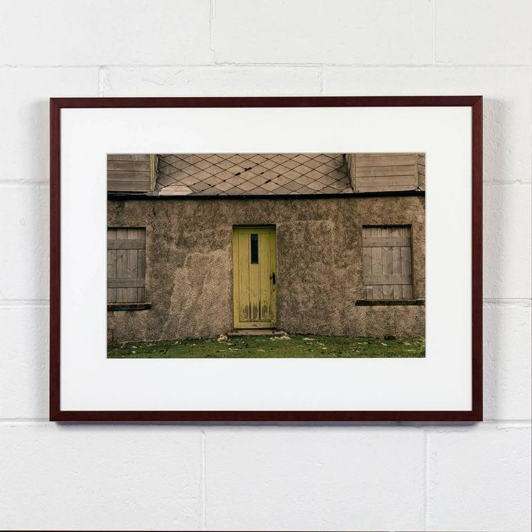 Sean Scully Color Photograph - Harris and Lewis Shacks #3