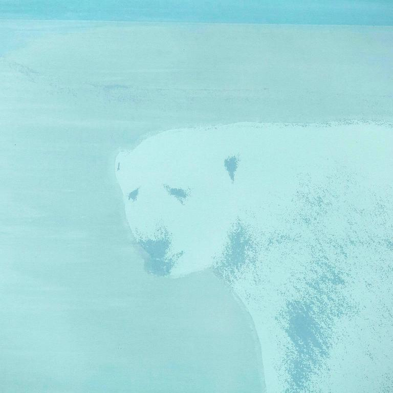 Bear in Mind the Light - Contemporary Print by Charles Pachter