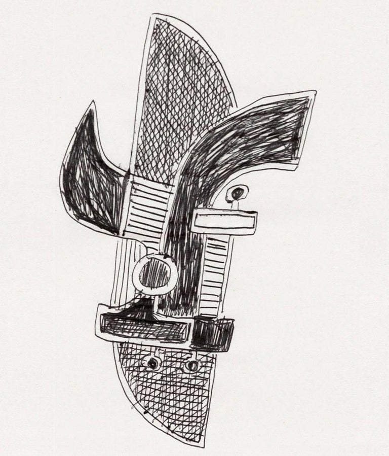 sorel etrog construction sketch for sale at 1stdibs