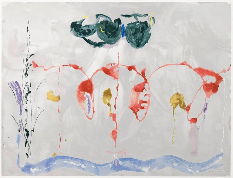 Aerie - Print by Helen Frankenthaler