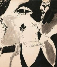 """Gene Davis """"In Bloom"""" 1952"""