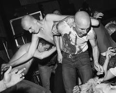 At an Angelic Upstarts concert, Sunderland, Wearside, 1984