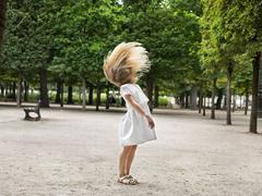 Ivana, Jardin Des Tuileries, Paris
