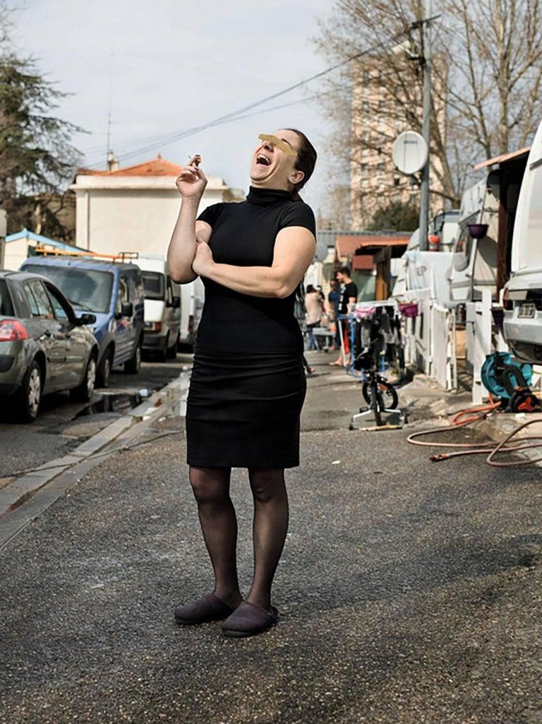 Alessandra Sanguinetti Color Photograph - Gypsy camp, Mazargues, Marseilles