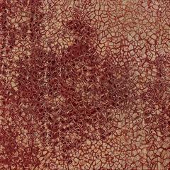 mural ceramic, warm red tone, 3D