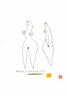 Serge Bloch, original work on paper, Venus Authentic