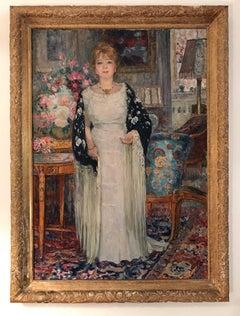Portrait de Madame Henry dans son intérieur