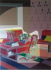 Beige Room with Vacuum (2010)