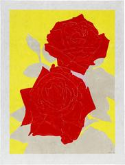 Gary Hume - Two Roses
