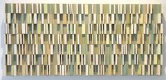 Bordolino - Abstract Geometric Wooden Wall Sculpture