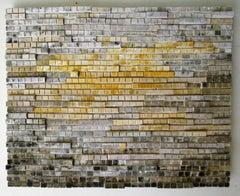 Aquifer (Modern Abstract Three-Dimensional Wall Sculpture)