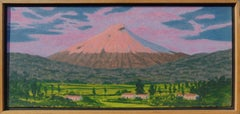 Cotopaxi (Contemporary Oil Landscape Painting of Volcano in Columbia)