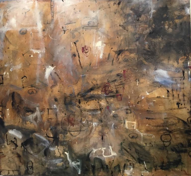 Elizabeth Coyne Heart And Mind Abstract Gestural Oil