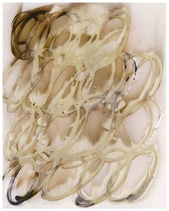 In Memory Of #3 (Modern, Abstract Chromoskedasic Photo in Light Brown & Beige)