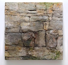 Rock Face, Buckley's Corners (Contemporary, Realistic Rock Wall Sculpture)