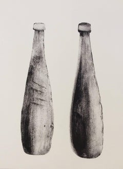 Bottles (Giclée B&W Still-Life Print)