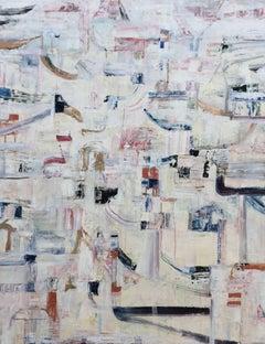 Hidden Pathways II (Abstract Acrylic Painting on Canvas)