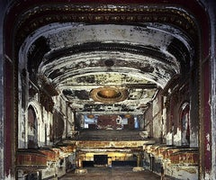 Capitol Theatre Auditorium (Contemporary Photograph of an Abandoned Interior)