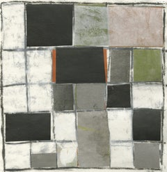 What To Do With a Grid (Contemporary Checkered Pattern in Olive Green, Black)