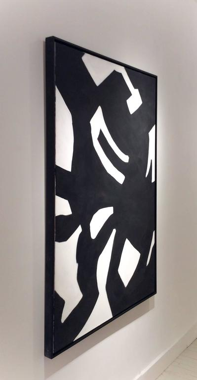 Oil painting on canvas 60 x 40 inches unframed 62 x 42 inches in thin black