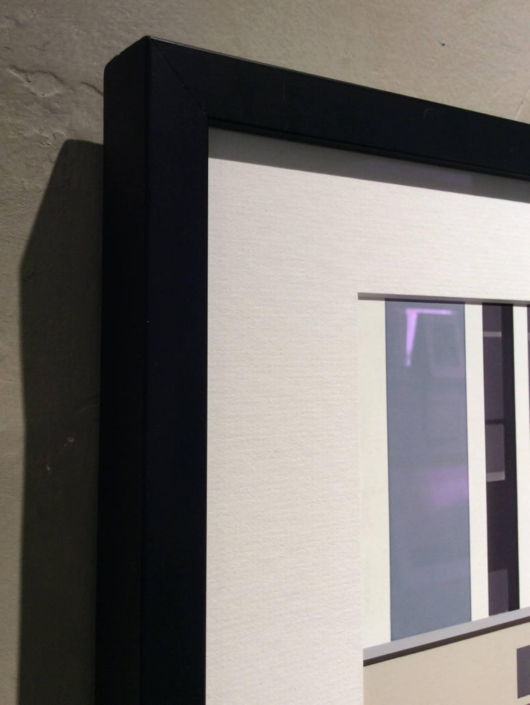 Building (Modern Abstracted Inkjet Print of Minimalist Architecture) - Contemporary Photograph by Stephanie Blumenthal