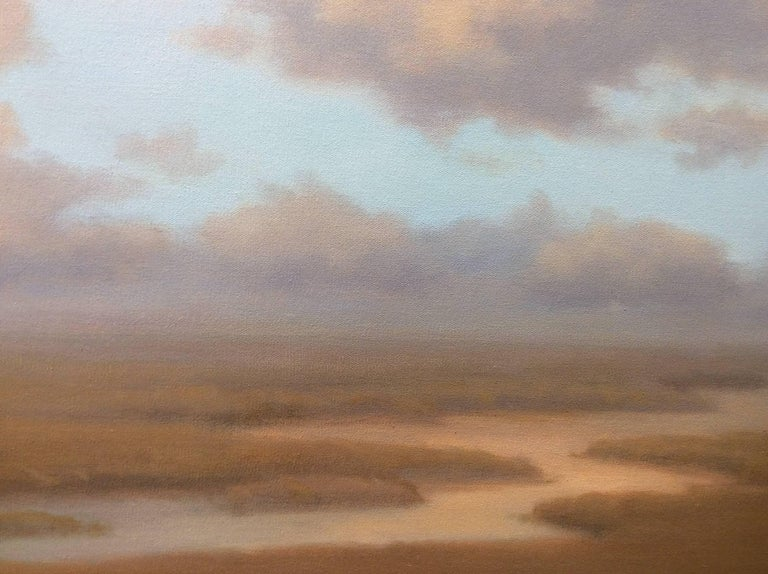 Smooth Oil Painting Surface Landscape