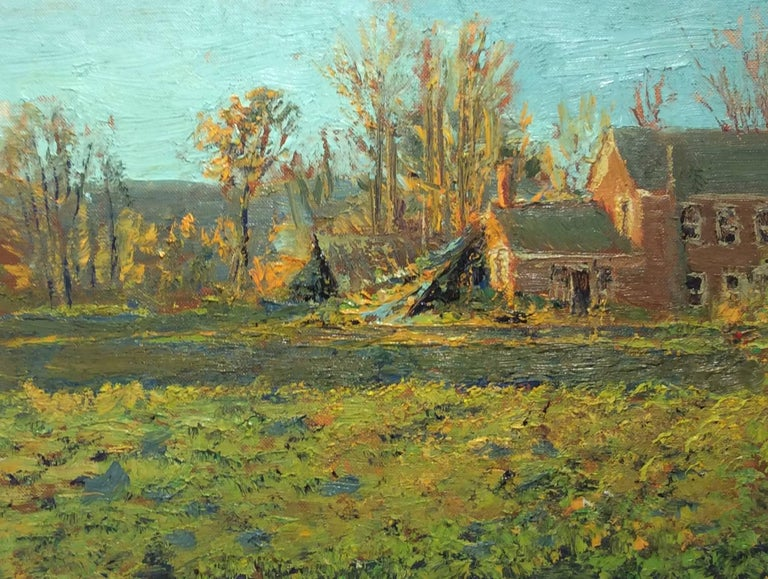 Harry Orlyk - Harry Orlyk - #5511 The Old Walker House: Modern Impressionist