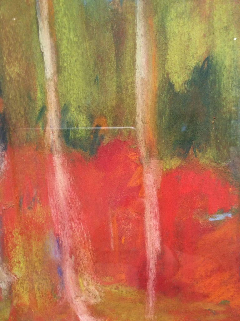 Nancy Rutter Wood Glen Ethereal Abstracted Landscape