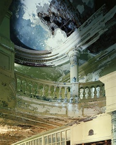 Capitol Theatre Lobby (Contemporary Photograph of an Abandoned Interior)