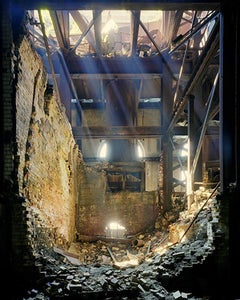 Glendale Power Station (Contemporary Photograph of an Abandoned Interior)