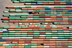 Trailer Yard, Port of Tacoma, Washington (Industrial Aeiral Photograph)