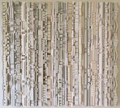 Vanilla - Abstract Wooden Wall Sculpture