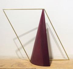 Night Watch (Mid Century Modern Inspired Table Top Abstract Sculpture)