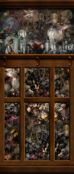Suzanna's Specimen Panel (Still Life Photograph Tapestry of Flowers & Birds)