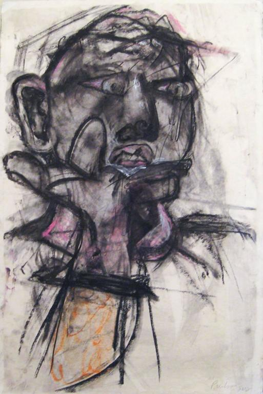 Actaeon (Contemporary Male Portrait influenced by New York School of Painters)