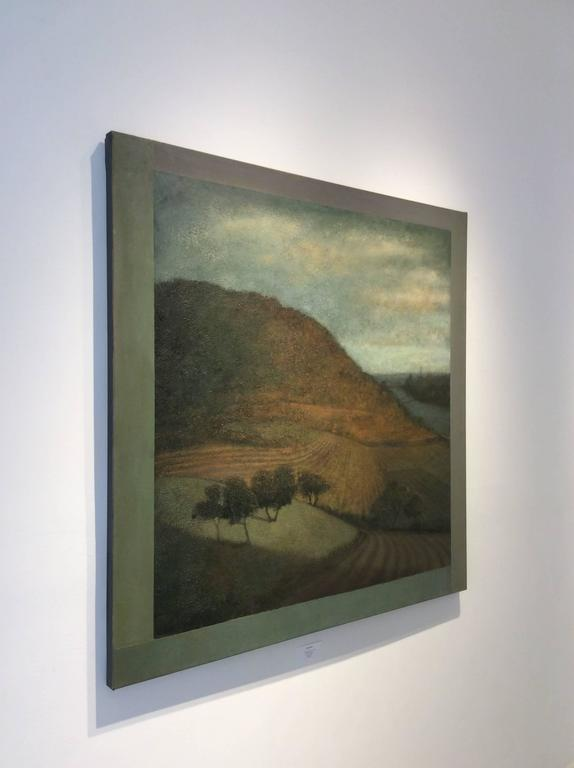Opening No. 54 (Modern Hudson River Valley Oil Landscape Painting on Canvas) 2