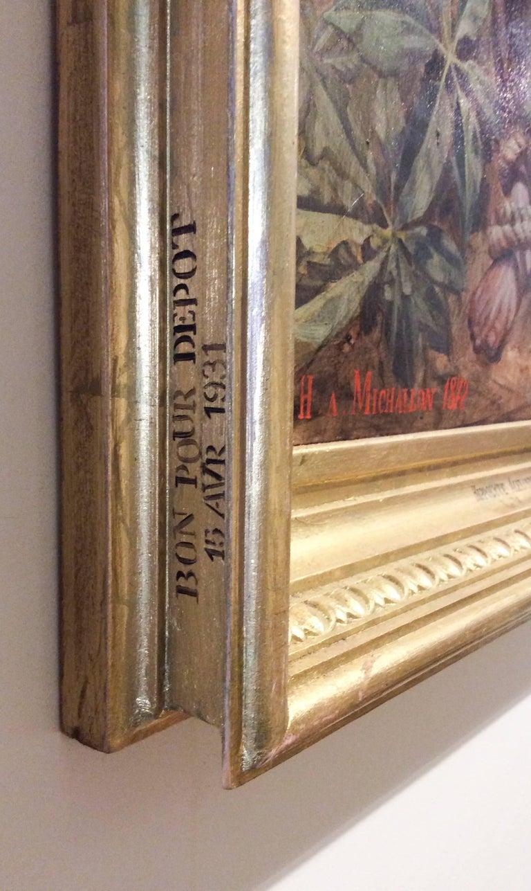 Le Martyr de Saint Sebastian (Academic Figurative Oil Painting in Gold Frame) For Sale 6