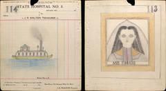 """Miss. Summers""/ Steamer Ship  [113/114]"