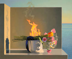 Still Life with Burning Flowers (Offering)