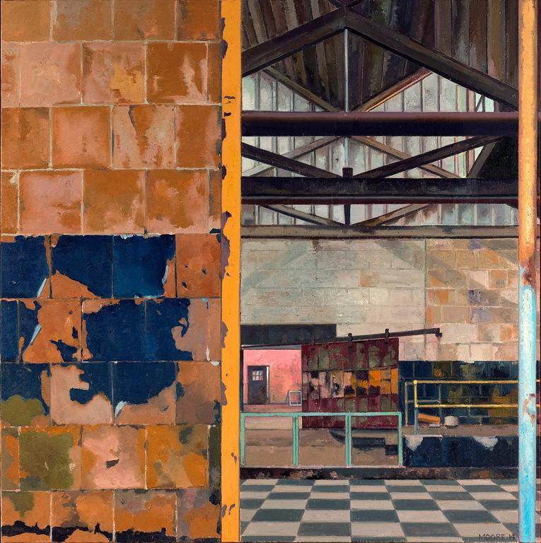 John Moore - Dye Room 1