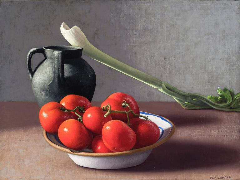 Tomatoes, Celery, and Vessel