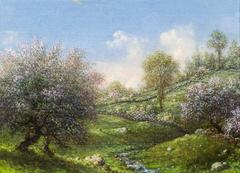 Pink Apple Trees