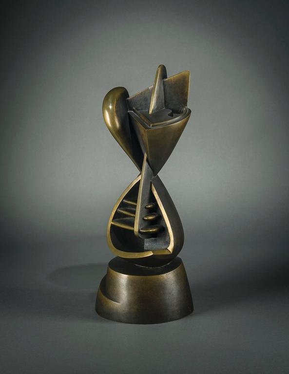 Theodore J. Roszak Abstract Sculpture - Torso Manique (Surveyor)