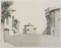 View of Porta Roma, Panicale