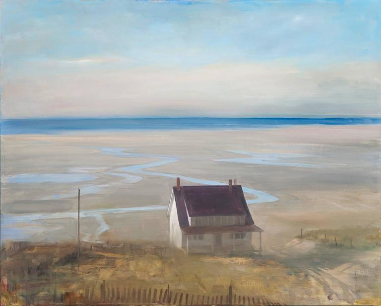 Beach House at Low Tide