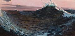Surf Under Red Skies