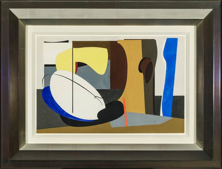 Untitled [Abstraction] - American Modern Painting by Charles Houghton Howard